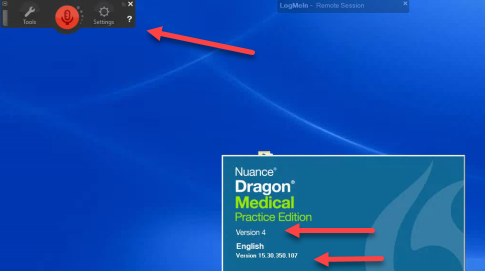 Dragon Medical Version