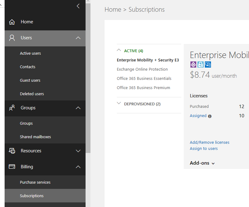 create users in Office 365 and Azure AD