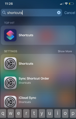 create shortcuts on your iPhone home screen