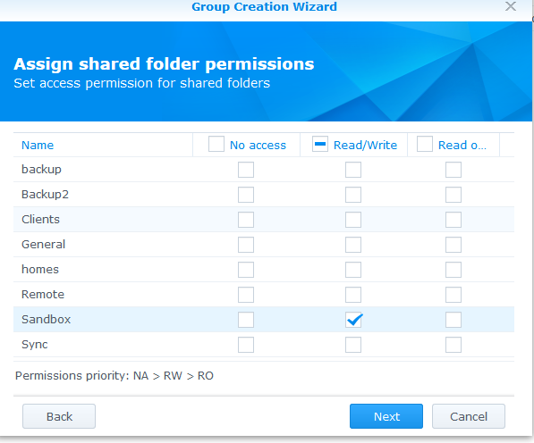Accessing Synology Work from Home