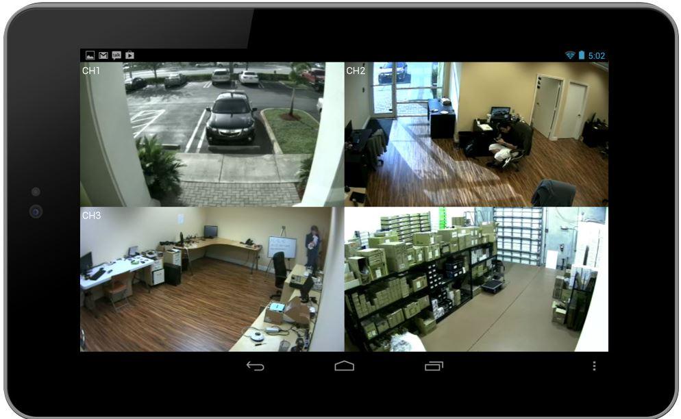 Surveillance Camera Setup