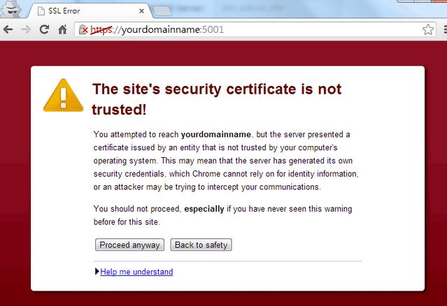 Synology SSL Certificate Setup