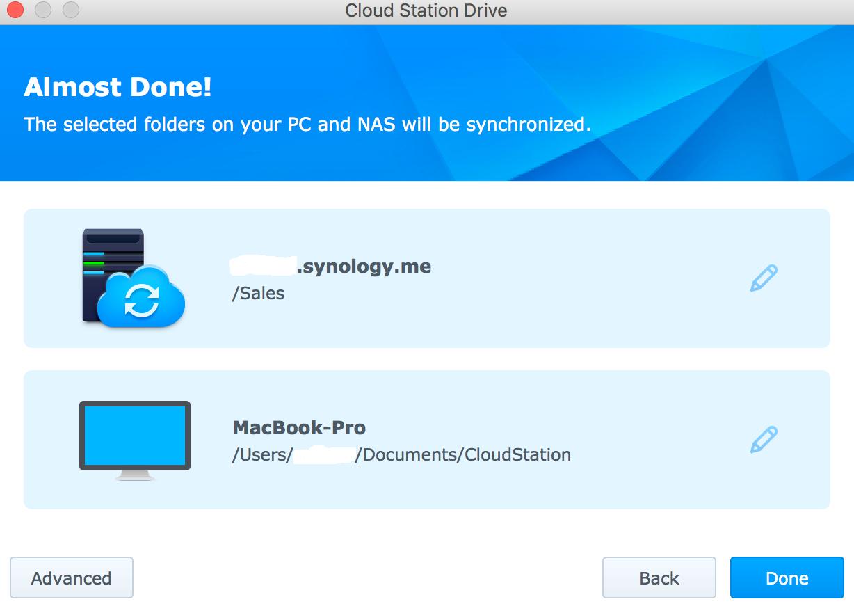 Synology Cloud Drive