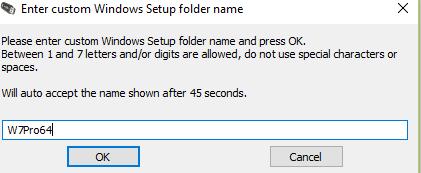 Custom Windows Setup