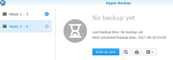 Synology Hyper Backup USB Drive Setup - Network Antics