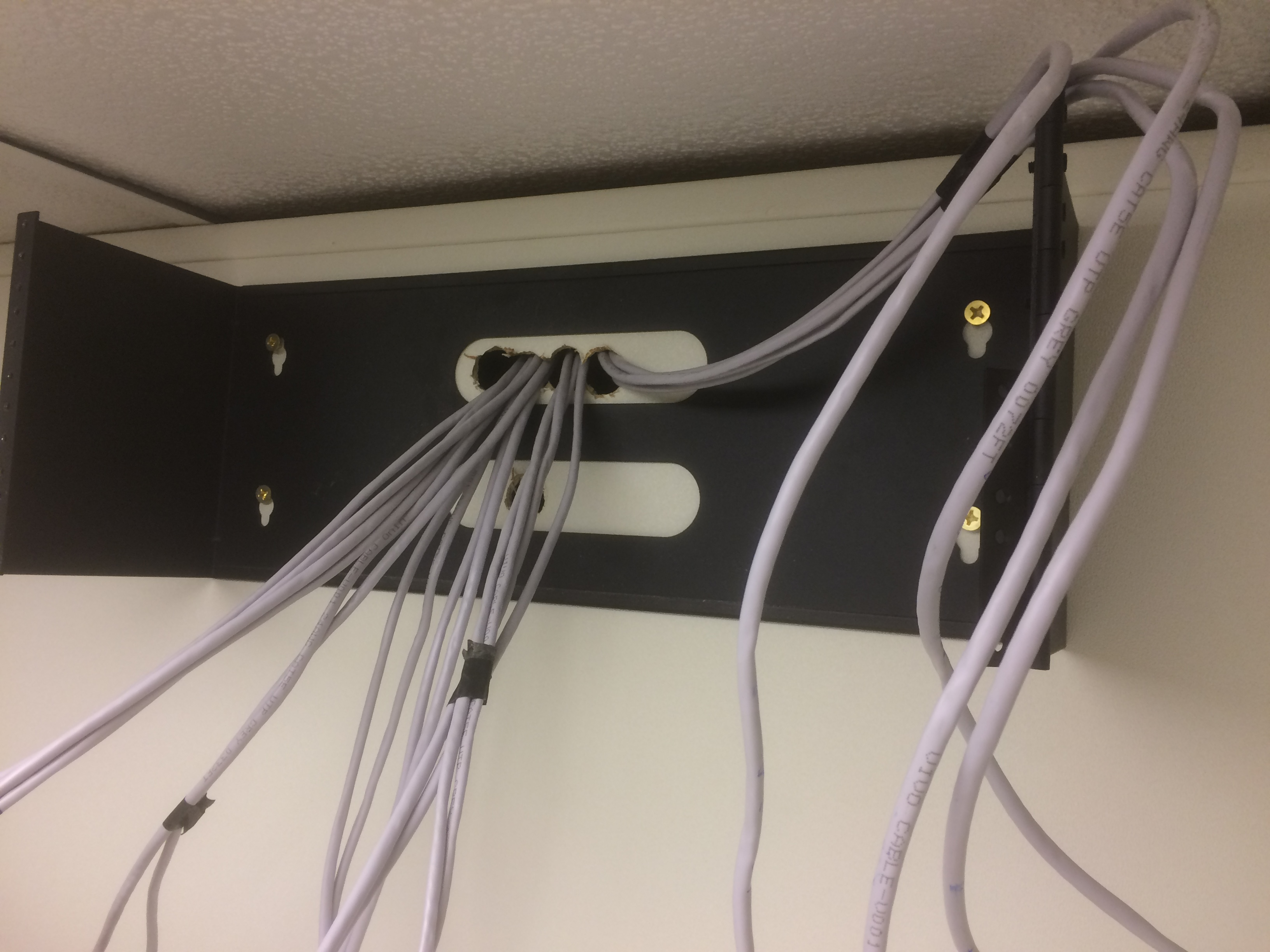 The How To Guide Of Network Installation Setup Antics Run Ethernet Through Walls Hinge Wall Mount