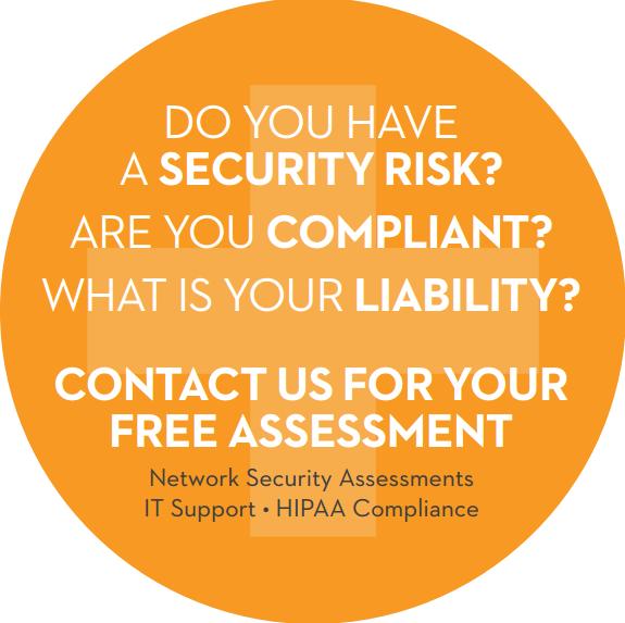hipaa compliance support