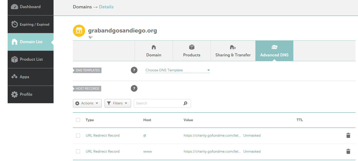 NameCheap Redirect & Forwarder Setup