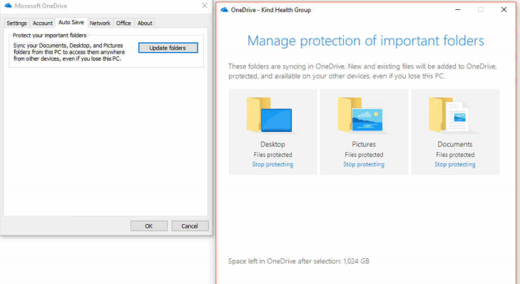 Setup OneDrive Client for Business