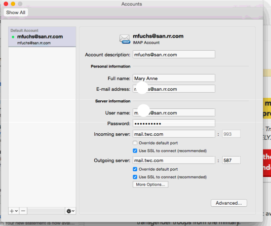 Troubleshooting Apple Mail and Outlook