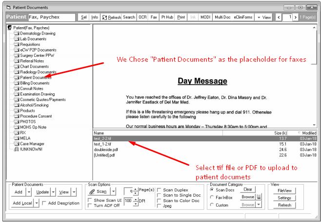 eClinical Scanning and Fax Support - Network Antics