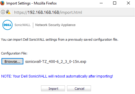 Sonicwall Support Services