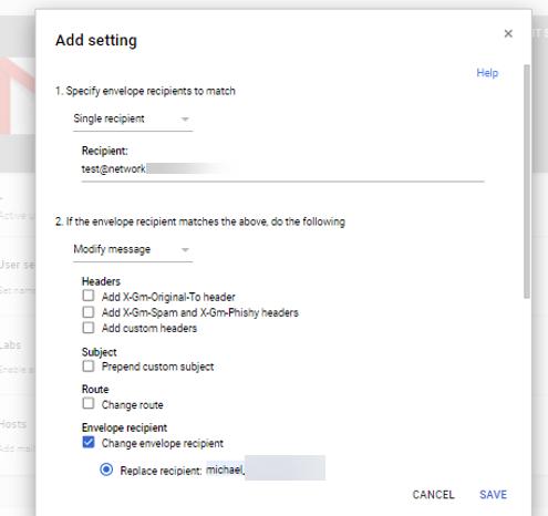 Autotask email processing G-suite