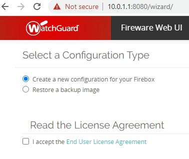Watchguard Network Setup